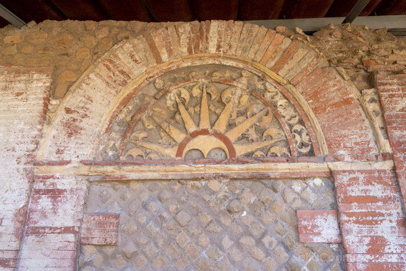 Ostia Antica Necropolis Tomba Archetti