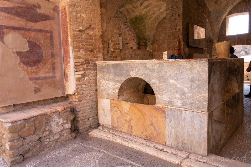 Ostia Antica Termopolio Via Diana Barra
