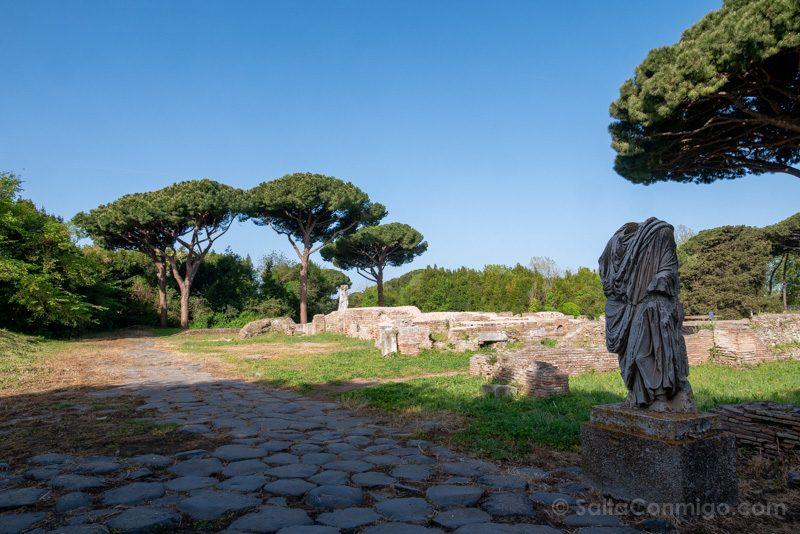 Ostia Antica Via Ostiense