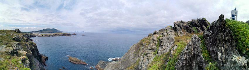 Panoramicas Ferrolterra Cabo Punta Frouxeira