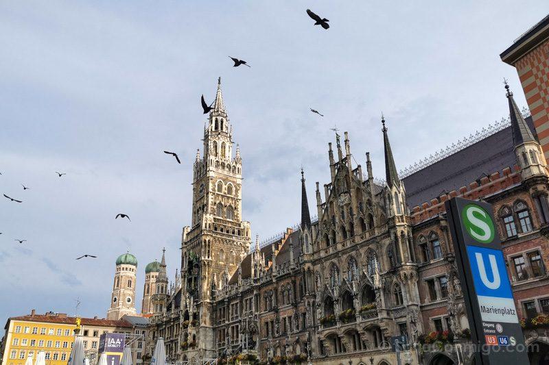 Que Ver En Munich Marienplatz General