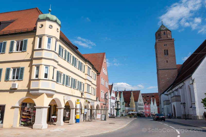 Ruta Sur Alemania Tren Donauworth