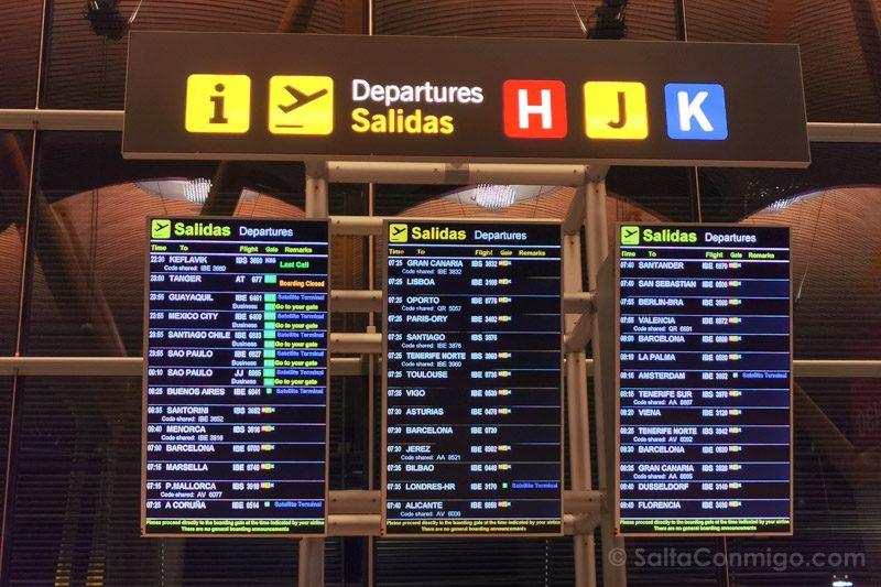 Vuelos Cancelados Retrasados Indemnizaciones Panel Madrid