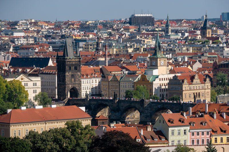 Miradores de Praga Castillo Puente Carlos
