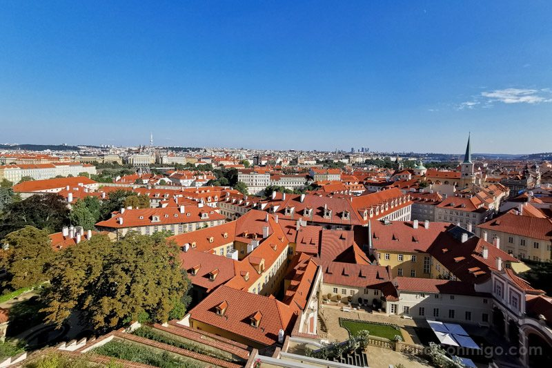 Miradores de Praga Castillo