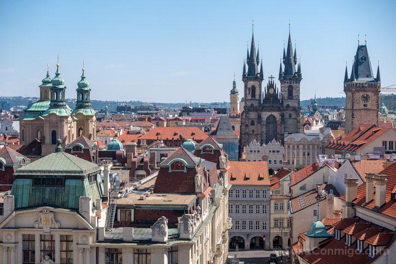 Miradores de Praga Klementinum Ciudad Vieja