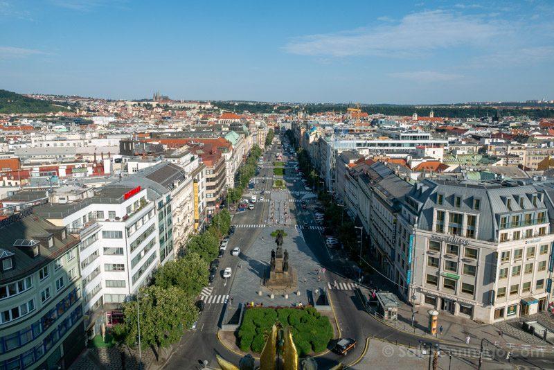 Miradores de Praga Museo Nacional
