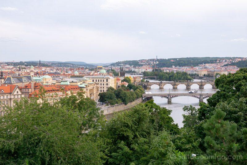 Miradores de Praga Parque Metronomo