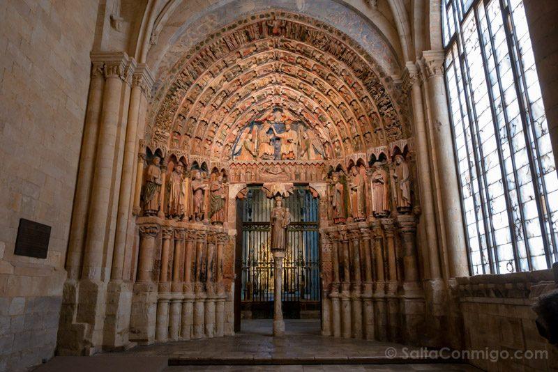 Que Ver En Toro Colegiata Santa Maria Portico Majestad