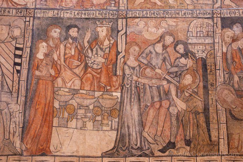 Que Ver En Toro Iglesia San Sebastian Frescos